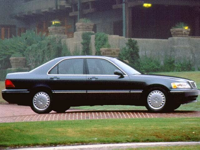 Top Consumer Rated Sedans of 1997 - 1997 Acura RL