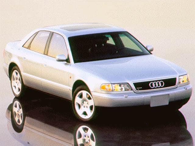Highest Horsepower Sedans of 1997 - 1997 Audi A8