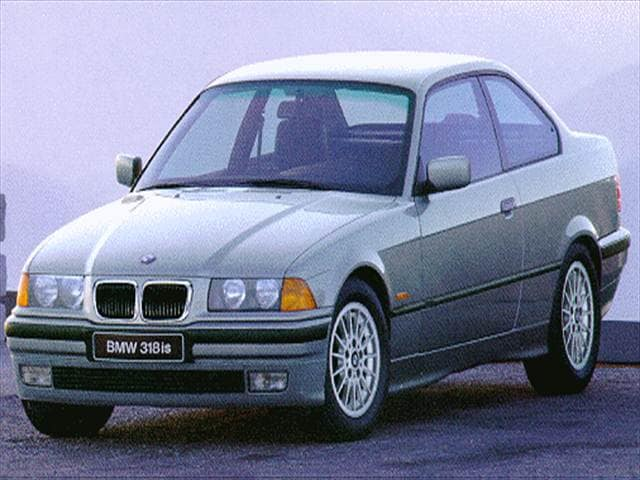 Most Popular Coupes of 1997 - 1997 BMW 3 Series