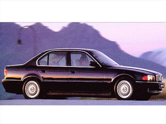 Highest Horsepower Sedans of 1997 - 1997 BMW 7 Series