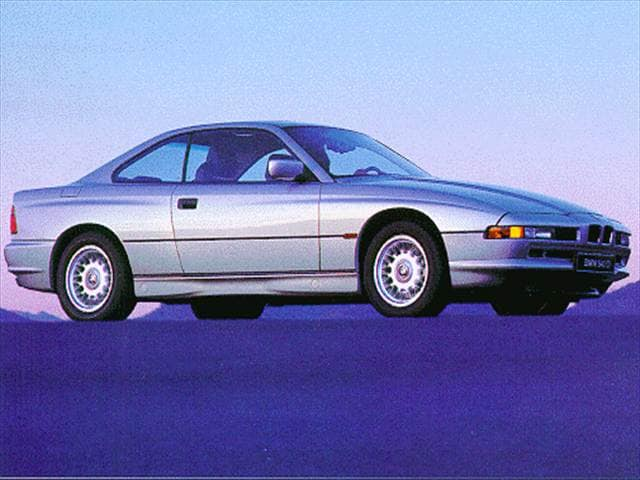 Top Consumer Rated Coupes of 1997 - 1997 BMW 8 Series