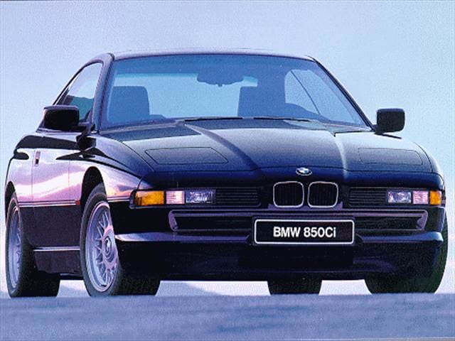 Highest Horsepower Luxury Vehicles of 1997 - 1997 BMW 8 Series