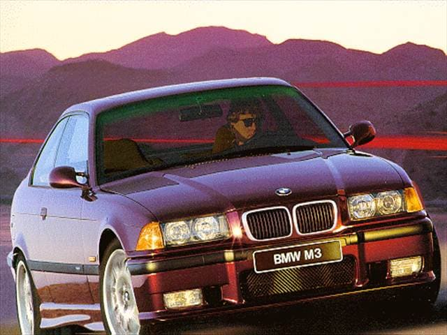 Top Consumer Rated Coupes of 1997 - 1997 BMW M3