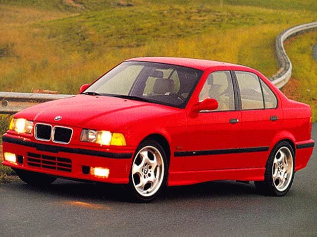 Top Consumer Rated Sedans of 1997 - 1997 BMW M3