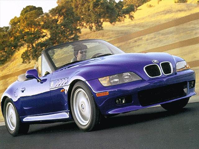 Most Fuel Efficient Convertibles of 1997 - 1997 BMW Z3