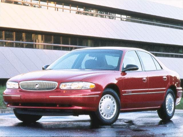 Most Popular Sedans of 1997 - 1997 Buick Century
