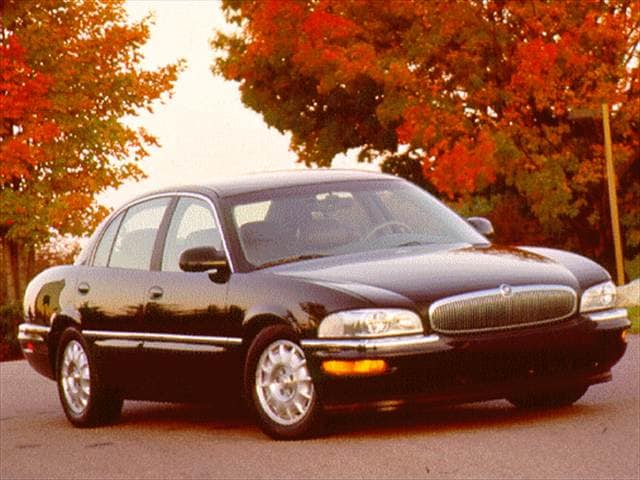 Most Popular Luxury Vehicles of 1997 - 1997 Buick Park Avenue