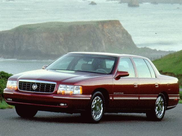 Most Popular Luxury Vehicles of 1997 - 1997 Cadillac DeVille