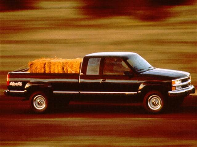 Most Popular Trucks of 1997 - 1997 Chevrolet 1500 Extended Cab