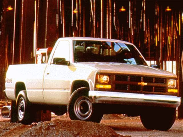 Most Popular Trucks of 1997 - 1997 Chevrolet 1500 Regular Cab