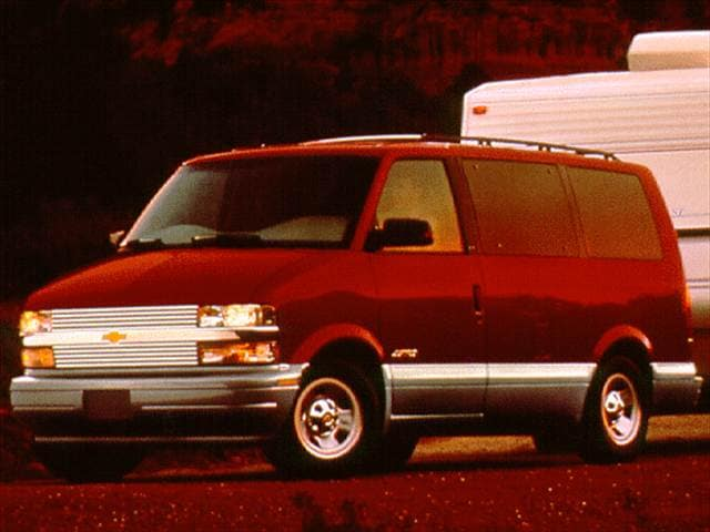 Most Popular Vans/Minivans of 1997 - 1997 Chevrolet Astro Passenger
