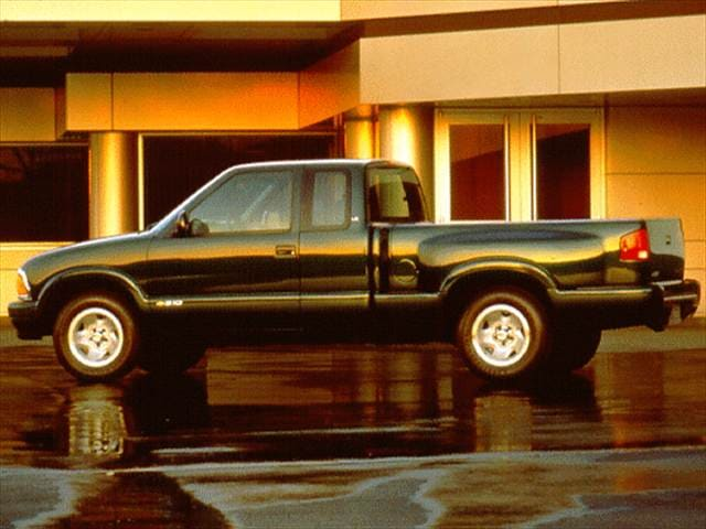 Most Popular Trucks of 1997 - 1997 Chevrolet S10 Extended Cab