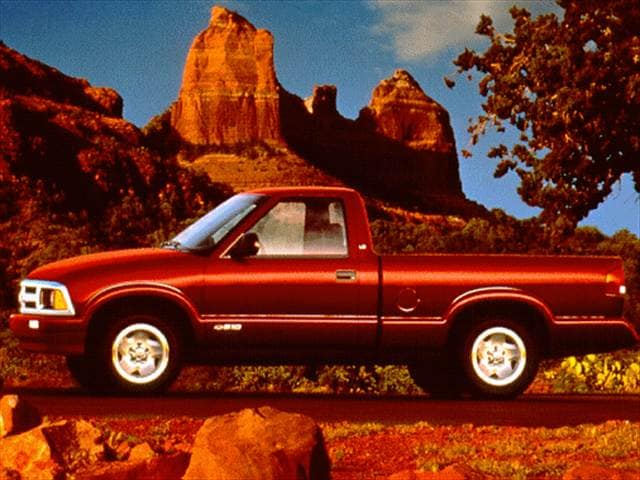 Most Popular Trucks of 1997 - 1997 Chevrolet S10 Regular Cab