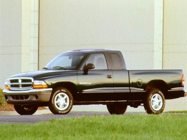 Most Popular Trucks of 1997 - 1997 Dodge Dakota Club Cab