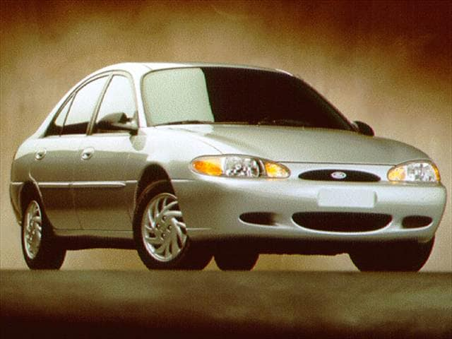 Most Popular Sedans of 1997 - 1997 Ford Escort