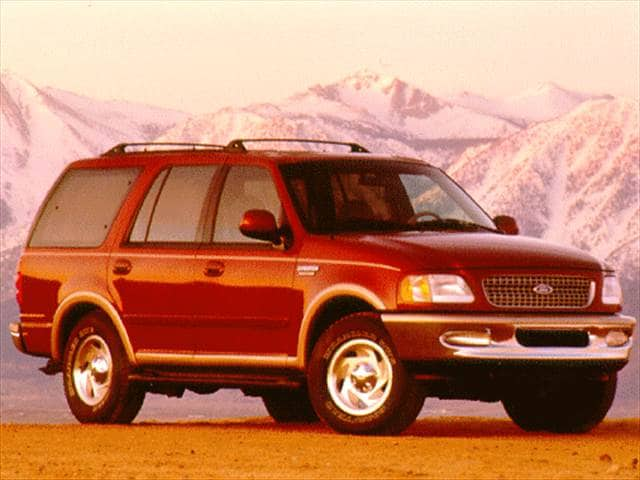 Highest Horsepower SUVs of 1997 - 1997 Ford Expedition