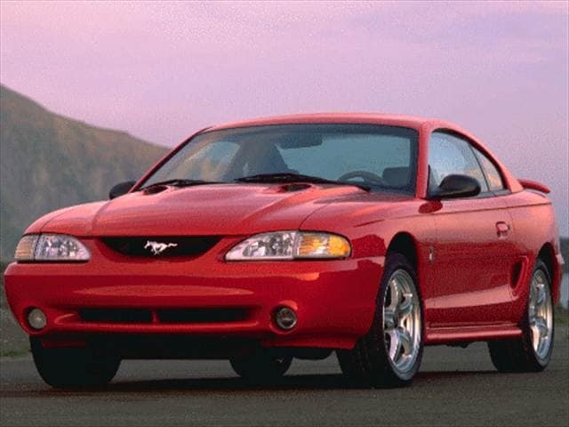 Highest Horsepower Coupes of 1997 - 1997 Ford Mustang
