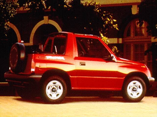 Most Fuel Efficient SUVs of 1997 - 1997 Geo Tracker
