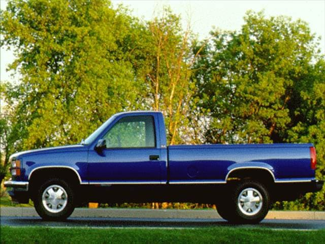 Top Consumer Rated Trucks of 1997 - 1997 GMC 1500 Regular Cab