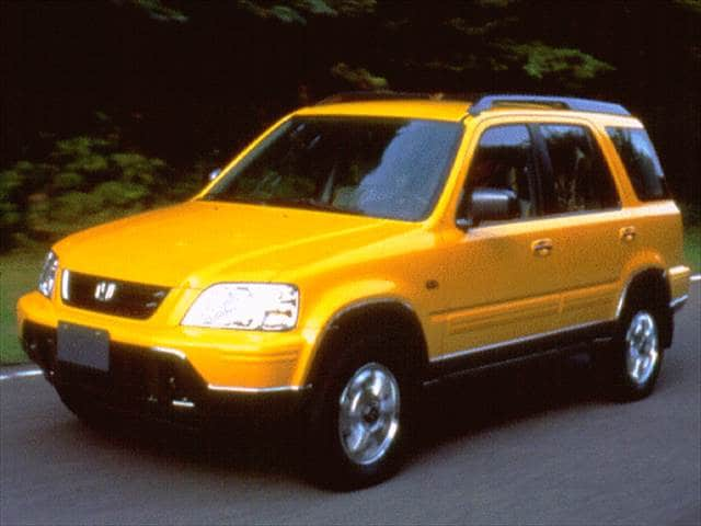 Most Fuel Efficient SUVs of 1997 - 1997 Honda CR-V