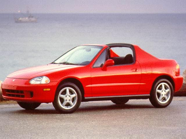 Top Consumer Rated Coupes of 1997 - 1997 Honda del Sol