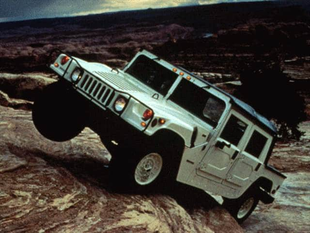 Highest Horsepower Convertibles of 1997 - 1997 HUMMER H1