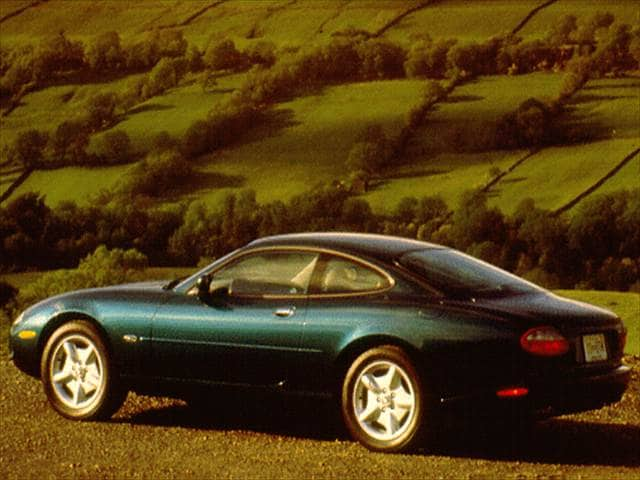 Highest Horsepower Coupes of 1997 - 1997 Jaguar XK