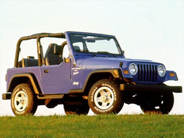 Top Consumer Rated SUVs of 1997 - 1997 Jeep Wrangler