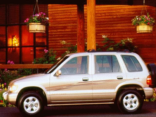 Most Fuel Efficient SUVs of 1997 - 1997 Kia Sportage