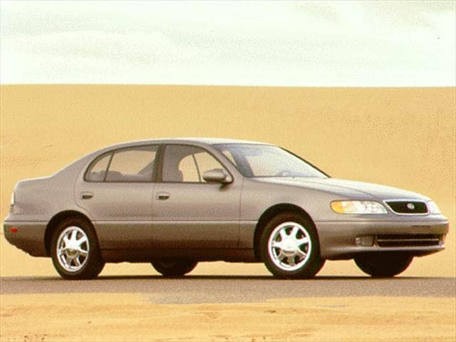 Top Consumer Rated Luxury Vehicles of 1997 - 1997 Lexus GS