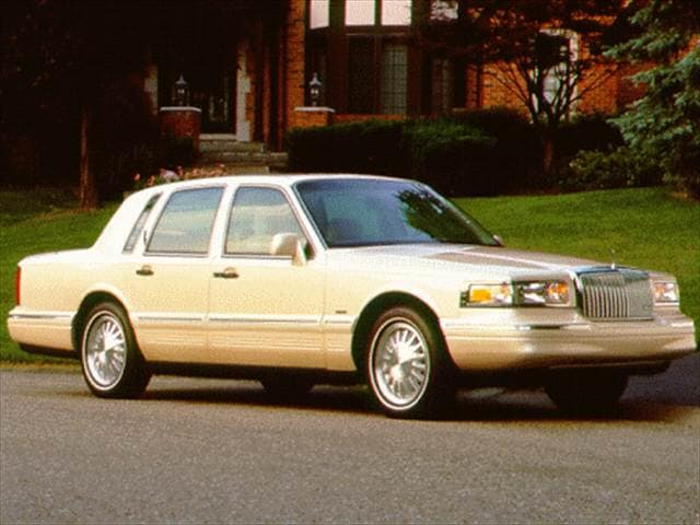 Top Consumer Rated Sedans of 1997 - 1997 Lincoln Town Car
