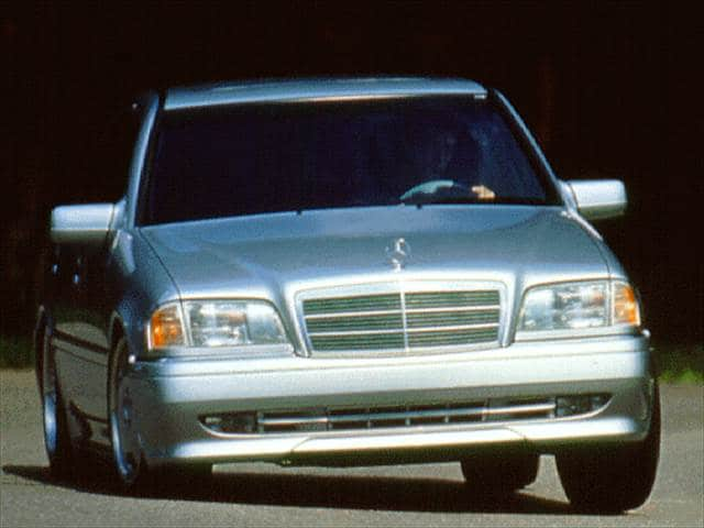 Highest Horsepower Sedans of 1997 - 1997 Mercedes-Benz C-Class
