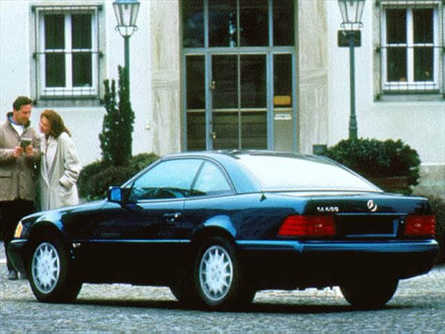 Top Consumer Rated Convertibles of 1997 - 1997 Mercedes-Benz SL-Class