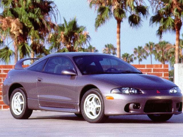 Most Fuel Efficient Hatchbacks of 1997 - 1997 Mitsubishi Eclipse