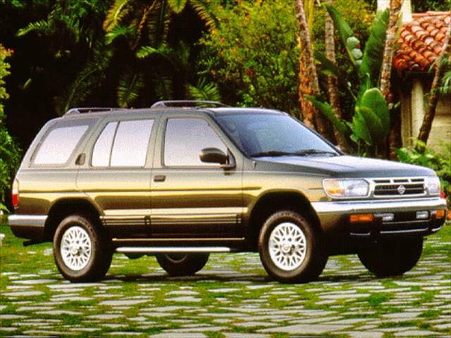 Most Popular SUVs of 1997 - 1997 Nissan Pathfinder