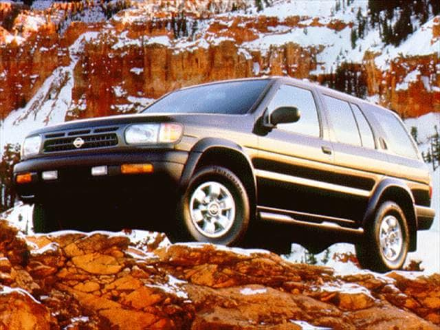 Top Consumer Rated SUVs of 1997 - 1997 Nissan Pathfinder