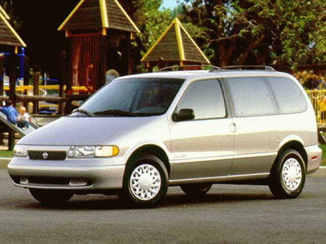 Most Fuel Efficient Vans/Minivans of 1997 - 1997 Nissan Quest