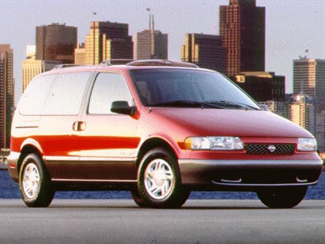 Top Consumer Rated Vans/Minivans of 1997 - 1997 Nissan Quest