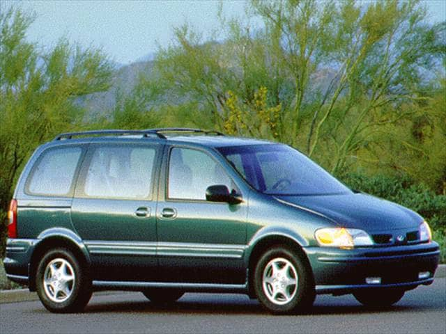 Most Fuel Efficient Vans/Minivans of 1997 - 1997 Oldsmobile Silhouette