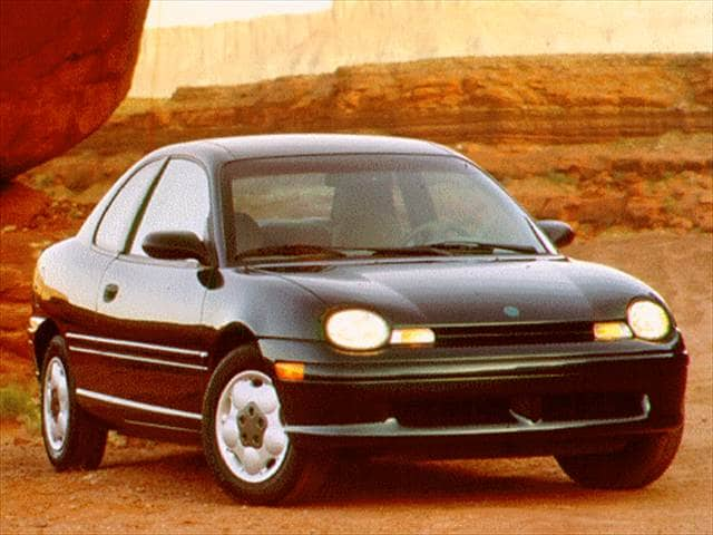 Most Fuel Efficient Coupes of 1997 - 1997 Plymouth Neon