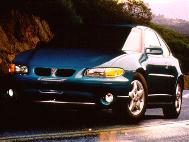 Most Popular Coupes of 1997 - 1997 Pontiac Grand Prix
