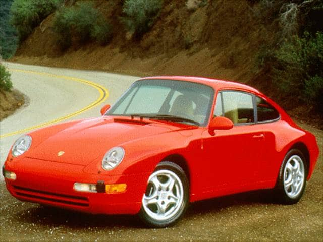 Top Consumer Rated Luxury Vehicles of 1997 - 1997 Porsche 911