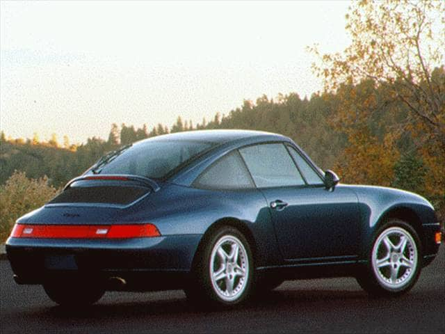 Top Consumer Rated Convertibles of 1997 - 1997 Porsche 911