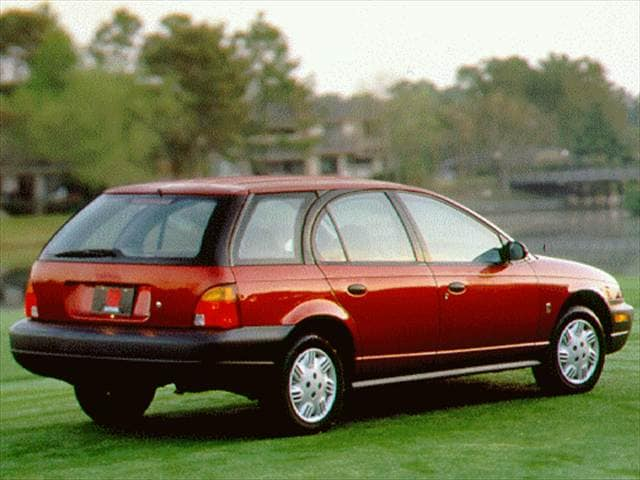Most Popular Wagons of 1997 - 1997 Saturn S-Series