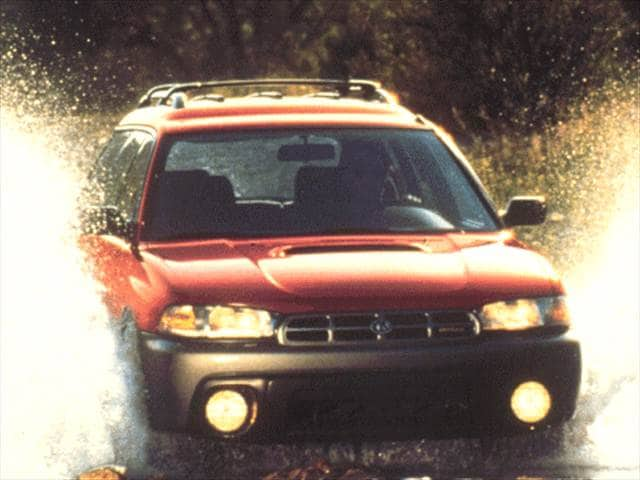 Most Popular Wagons of 1997 - 1997 Subaru Legacy