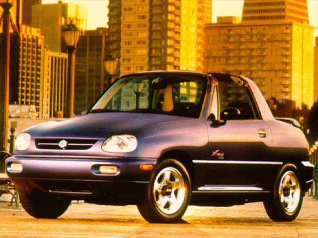 Most Fuel Efficient SUVs of 1997 - 1997 Suzuki X-90