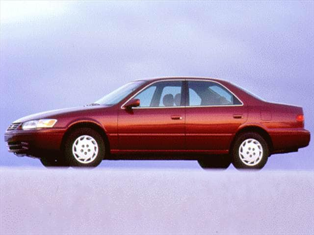 Most Popular Sedans of 1997 - 1997 Toyota Camry