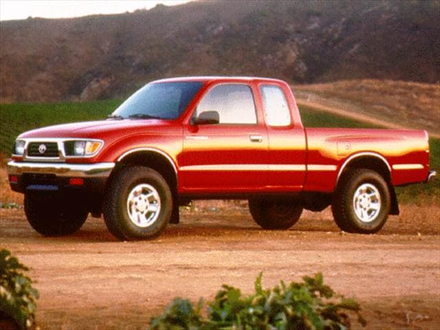 Most Popular Trucks of 1997 - 1997 Toyota Tacoma Xtracab