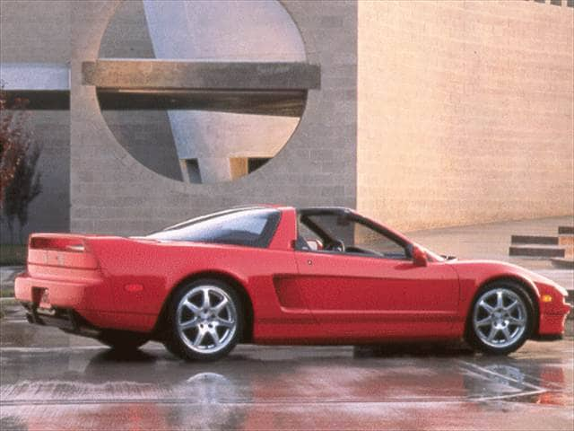 Top Consumer Rated Luxury Vehicles of 1998 - 1998 Acura NSX
