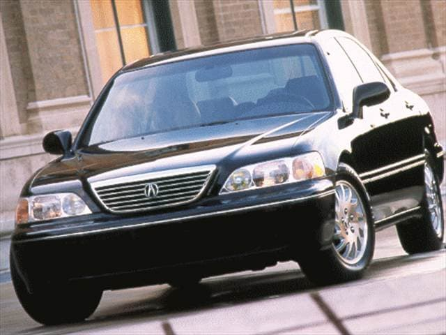 Top Consumer Rated Sedans of 1998 - 1998 Acura RL